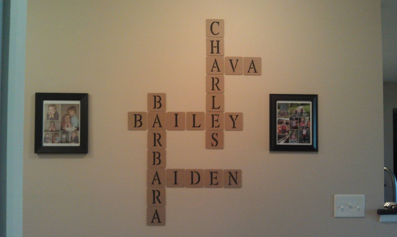 Articles With Last Name Picture Wall Art Tag: Family Name Wall Art Within Most Current Last Name Wall Art (View 16 of 25)