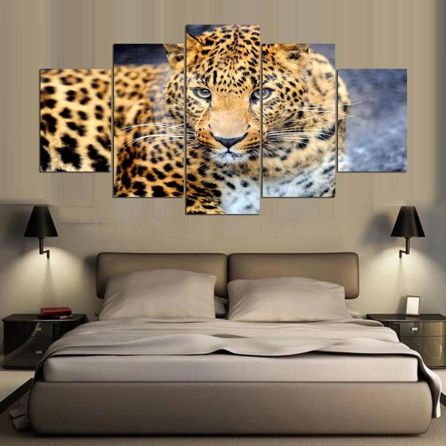 Articles With Leopard Print Wall Art Decor Tag: Animal Print Wall Inside Latest Leopard Print Wall Art (View 9 of 25)