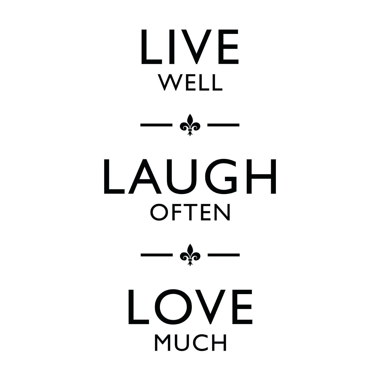 Articles With Live Laugh Love Wall Art Stickers Tag: Love Wall Art (View 4 of 25)