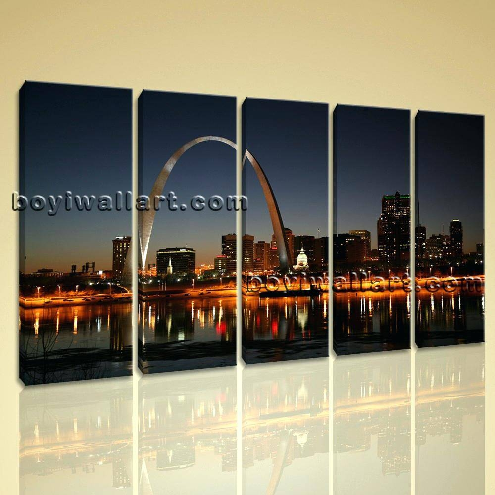 Articles With London Cityscape Wall Art Label: Wonderful Cityscape Throughout Best And Newest London Scene Wall Art (View 7 of 20)