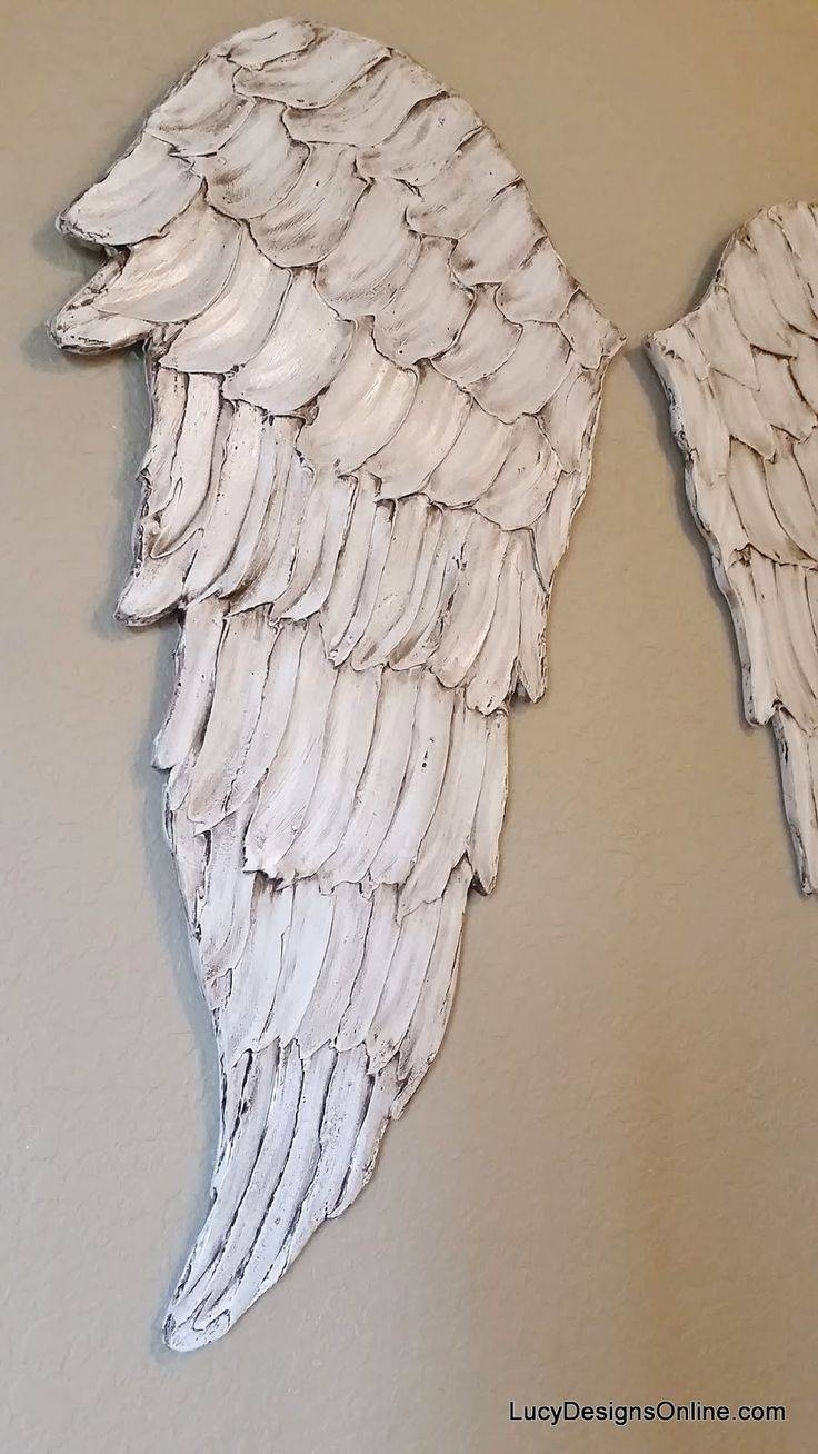 Articles With Metal Angel Wings Wall Decor Uk Tag: Wings Wall With Regard To Newest Angel Wings Wall Art (View 18 of 20)