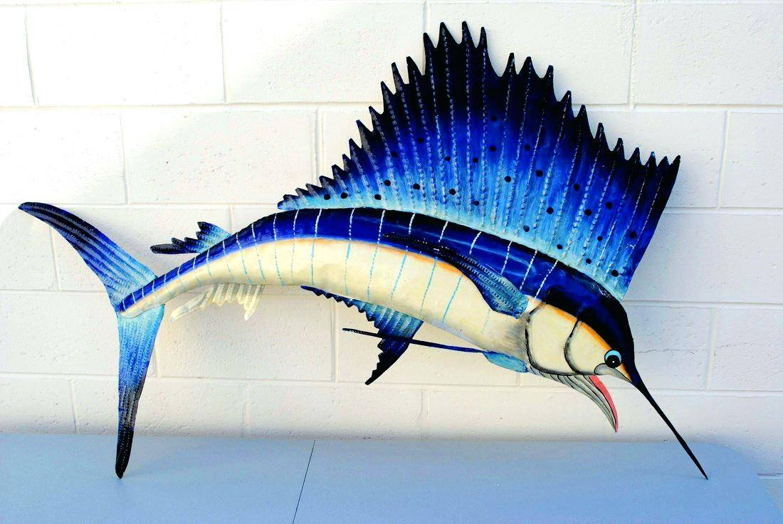 Articles With Metal Fish Wall Art New Zealand Tag: Fish Metal Wall With Most Recently Released Shoal Of Fish Metal Wall Art (View 2 of 30)