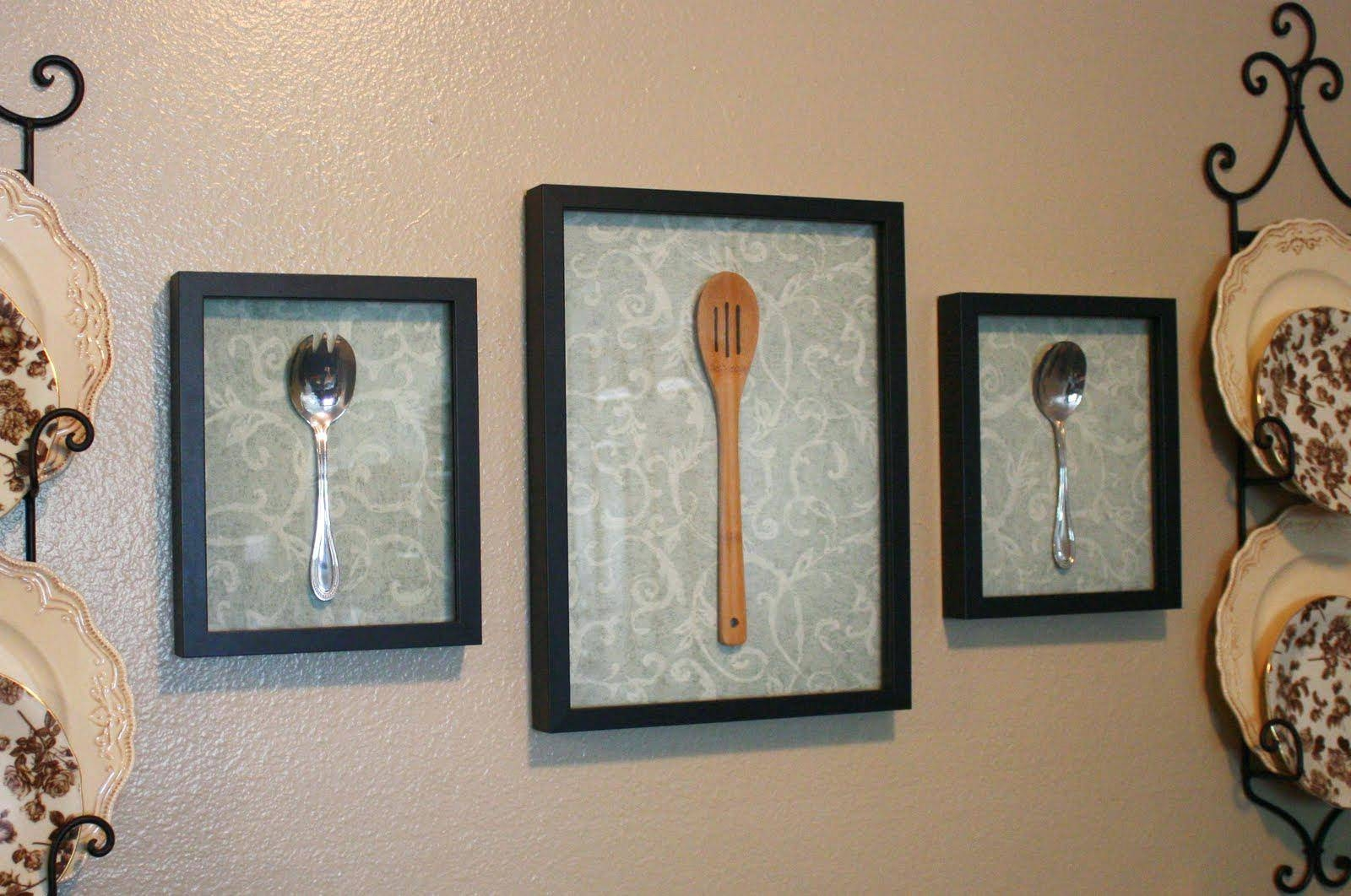 Articles With Metal Fork Spoon Wall Decor Tag: Spoon Wall Decor Regarding Most Popular Giant Fork And Spoon Wall Art (View 18 of 25)