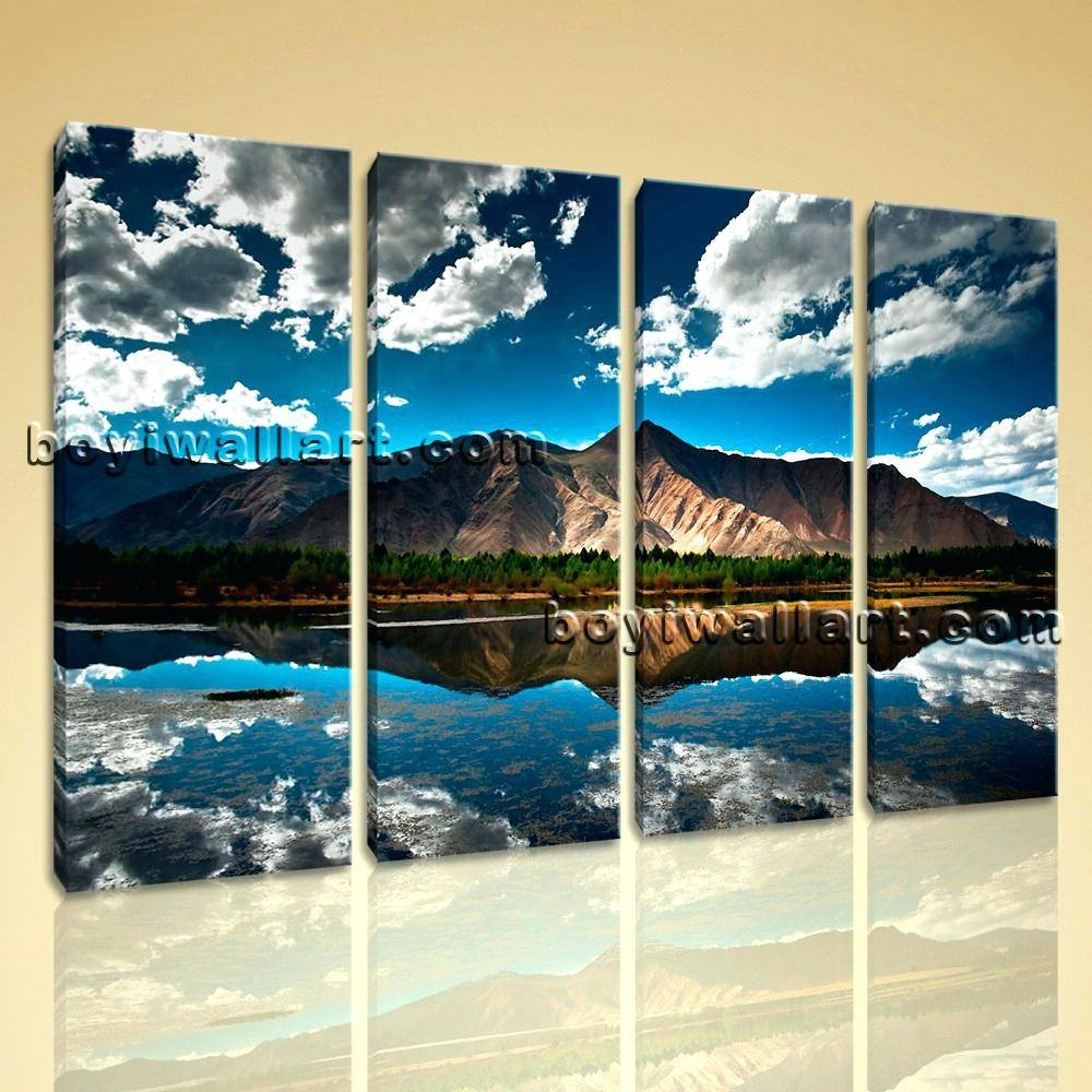 Articles With Mountain Scene Metal Wall Art Tag: Mountain Wall Art (View 3 of 30)