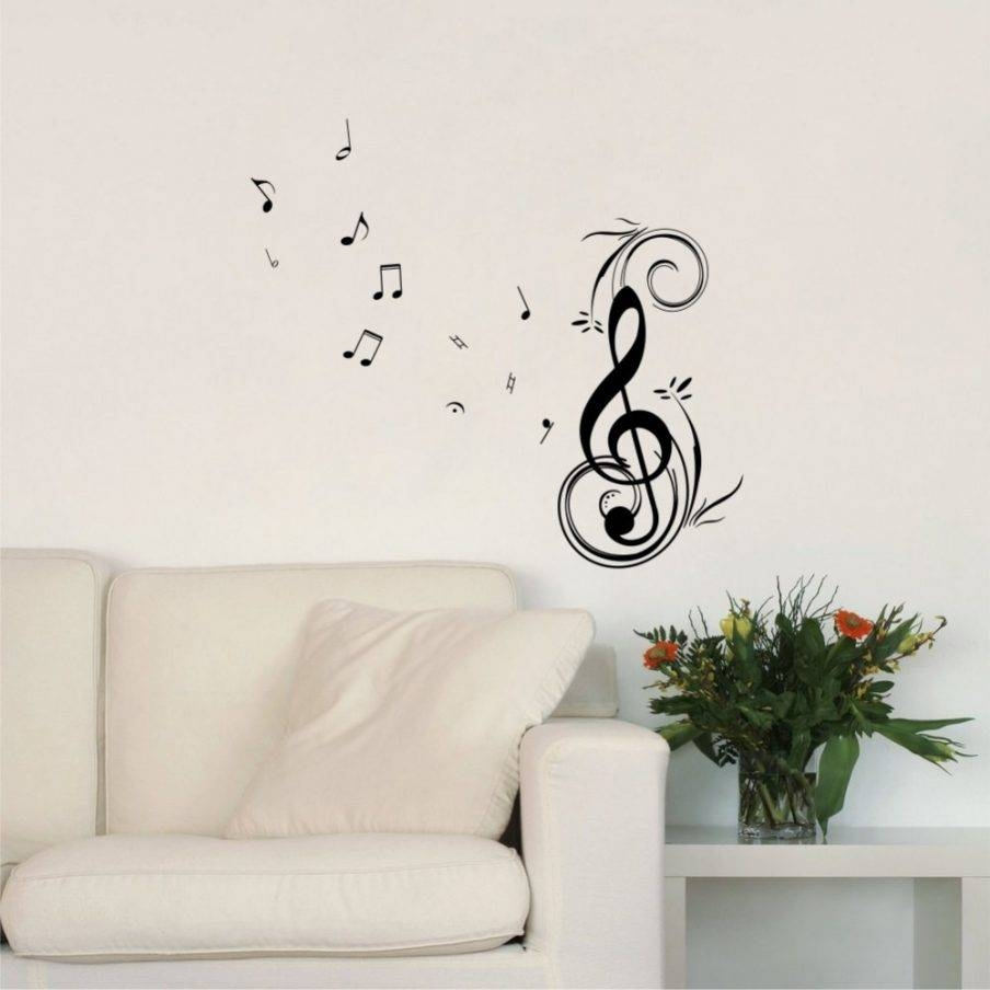 Articles With Musical Notes Metal Wall Art Uk Tag: Musical Wall Inside Current Music Note Art For Walls (View 2 of 25)