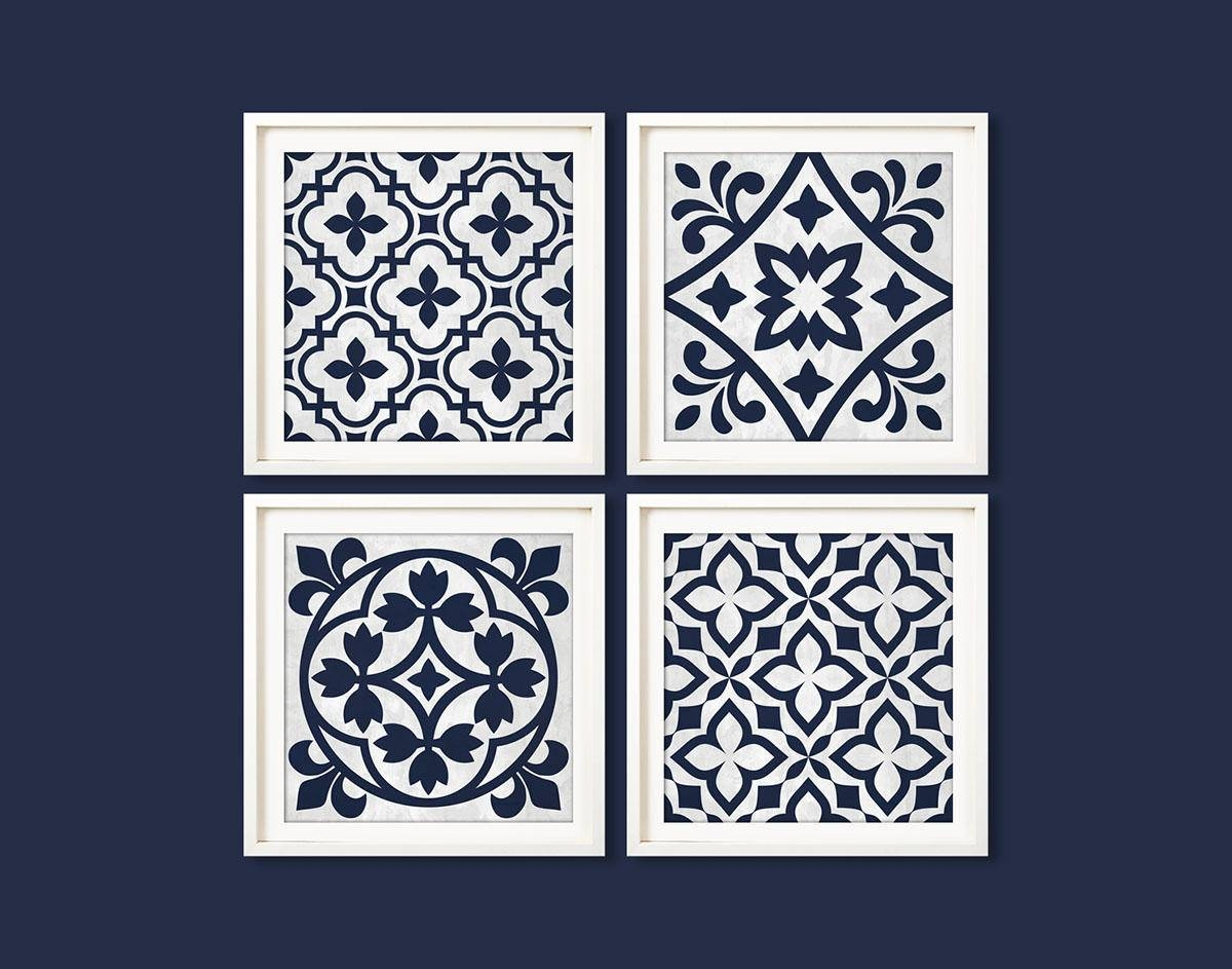 Articles With Navy Blue Wall Art Uk Tag: Blue Wall Art Inside Newest Navy Blue Wall Art (View 5 of 20)