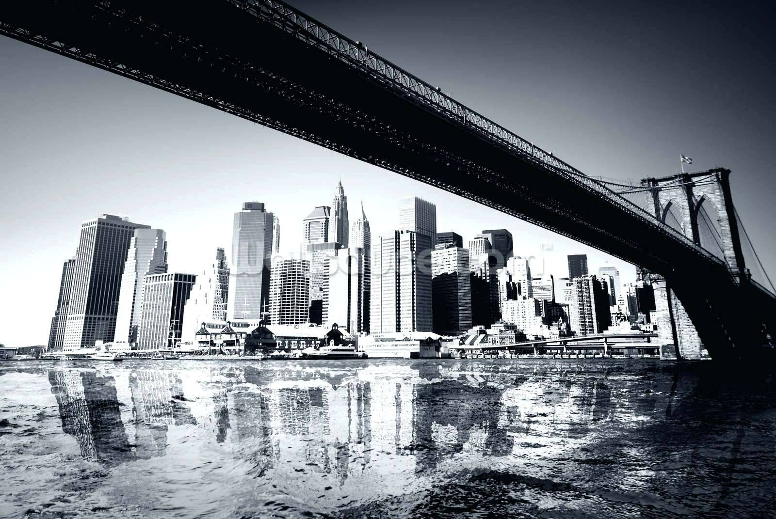 Articles With New York Wall Murals For Bedrooms Tag: New York Wall Within Most Recently Released Brooklyn Bridge Wall Decals (View 16 of 25)