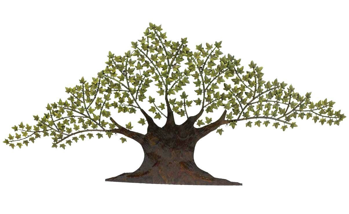 Articles With Oak Tree Large Metal Wall Art Tag: Metal Tree Wall Art (View 4 of 30)