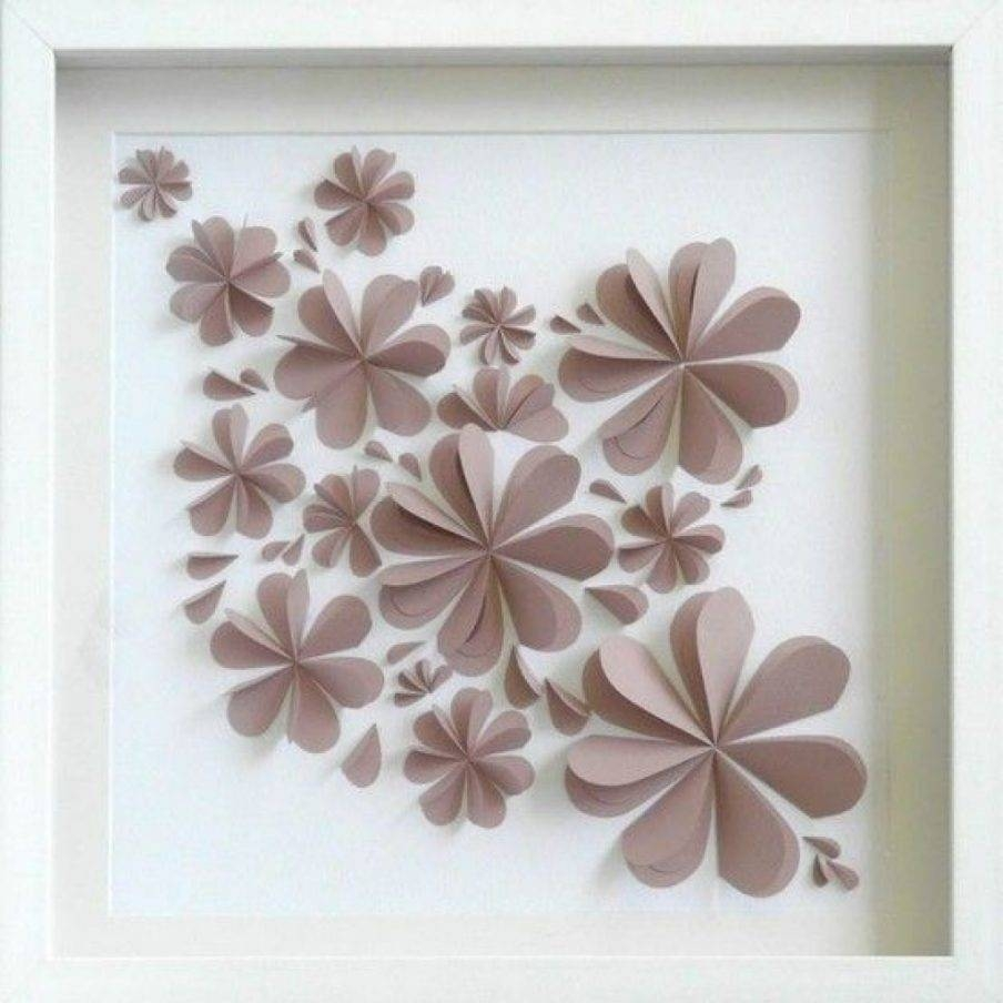 Articles With Paper Wall Hanging Diy Tag: Paper Wall Decor Images (View 6 of 20)