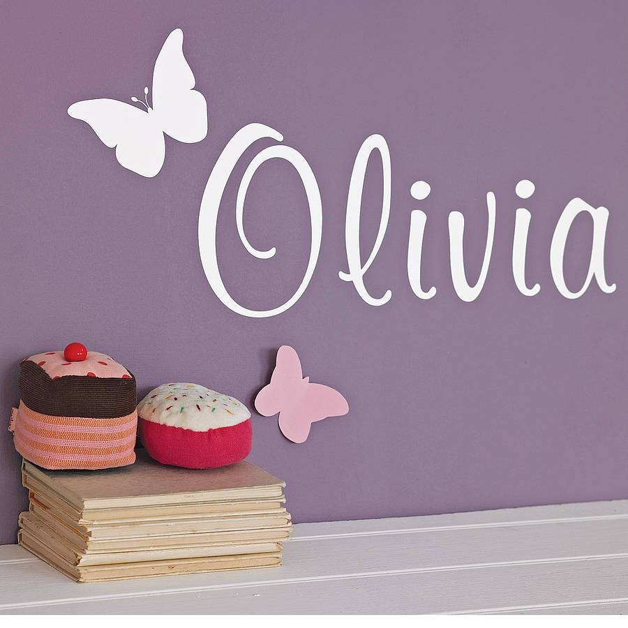 Articles With Personalized Name Wall Art Letters Tag: Name Wall With Most Recent Personalized Wall Art With Names (View 16 of 20)