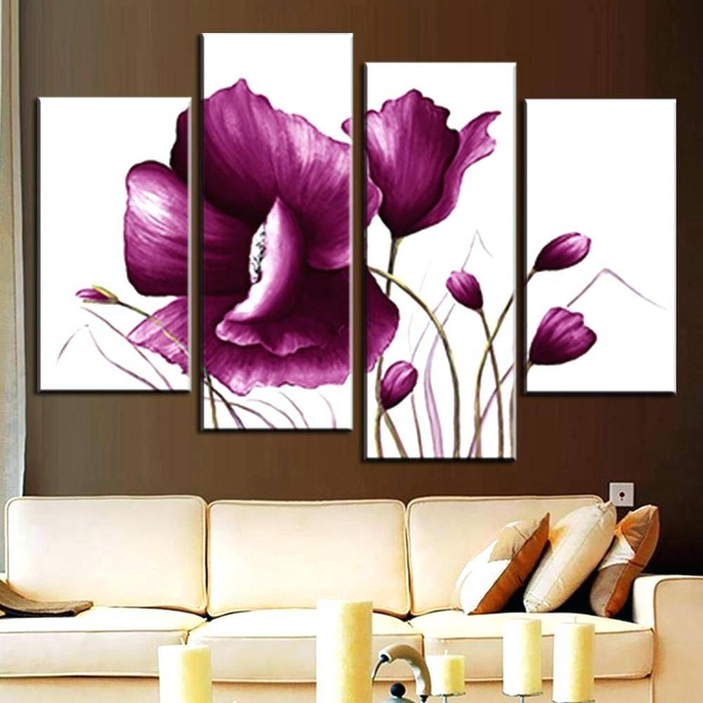 Articles With Plum Purple Wall Art Label: Glamorous Plum Wall Art With Regard To Latest Plum Coloured Wall Art (View 5 of 20)