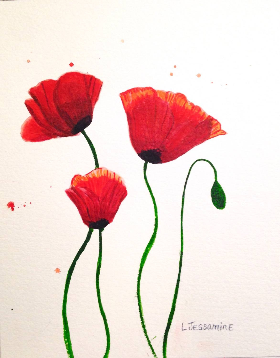 Articles With Poppy Flower Metal Wall Art Tag: Poppy Wall Art In Most Current Red Flower Metal Wall Art (View 3 of 25)