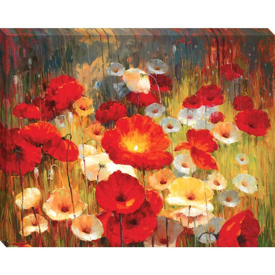 Articles With Poppy Wall Art In Yellow Tag: Poppy Wall Art For Recent Metal Poppy Wall Art (View 10 of 30)