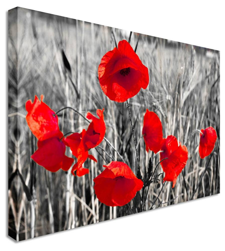 Articles With Poppy Wall Art Metal Tag: Poppy Wall Art Pictures (View 11 of 30)