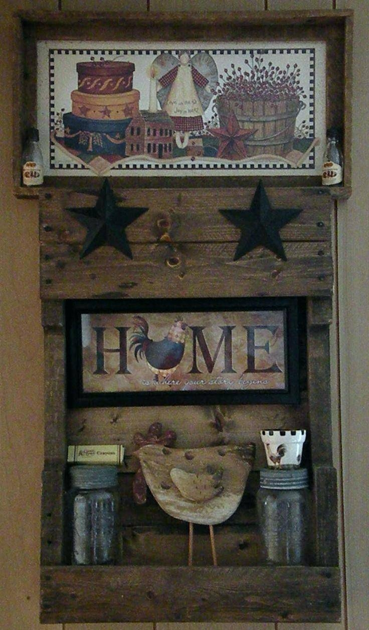 Articles With Primitive Wall Art Decor Tag: Primitive Wall Art (View 12 of 30)