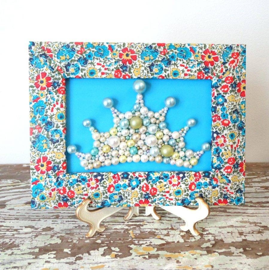 Articles With Princess Crown 3D Wall Art Tag: Crown Wall Art (View 4 of 25)