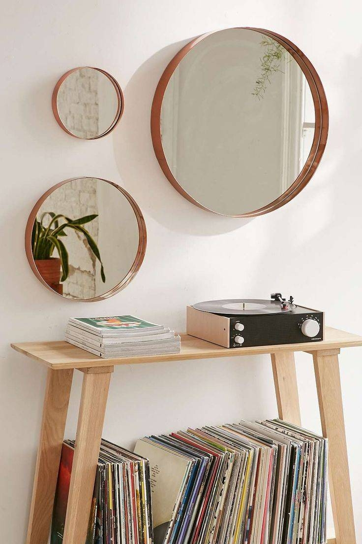 Articles With Round Wall Mirrors Set Of 3 Tag: Circle Wall Mirrors In Most Up To Date Mirror Circles Wall Art (View 1 of 20)