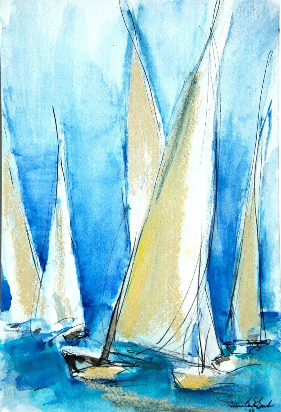 Articles With Sailing Boat Metal Wall Art Tag: Sailboat Wall Art (View 6 of 30)