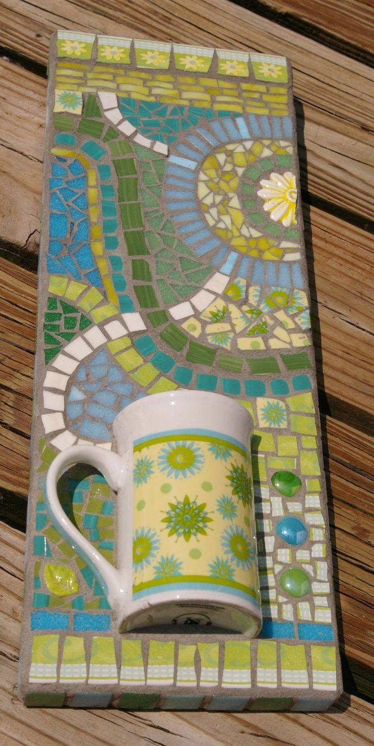 Articles With Seashell Mosaic Wall Art Decor Tag: Mosaic Wall Regarding Most Popular Mosaic Wall Art Kits (View 4 of 20)