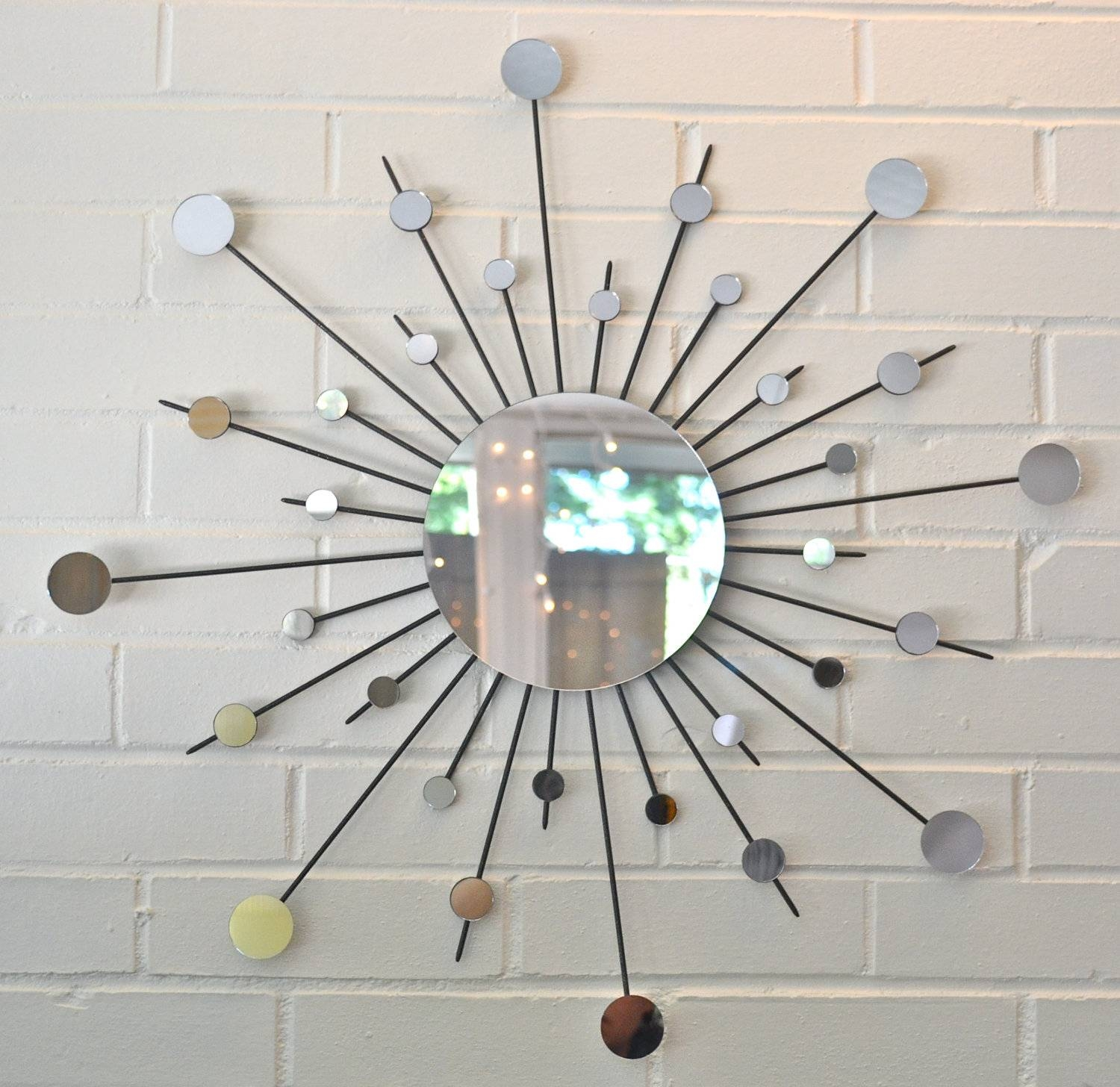 Articles With Small Round Wall Mirrors Uk Tag: Circle Wall Mirrors Inside Most Popular Small Round Mirrors Wall Art (View 1 of 20)