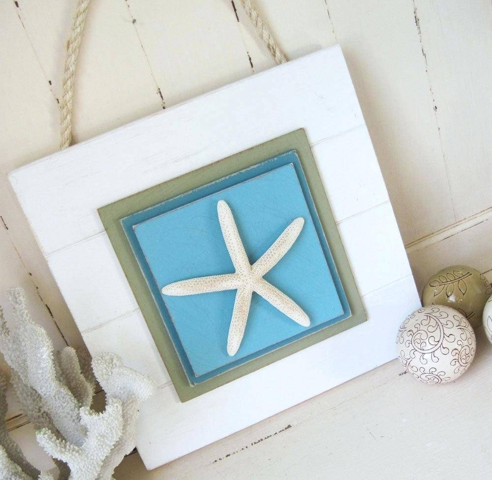 Articles With Starfish Wall Decor Bathroom Tag: Wall Decor In Most Up To Date Large Starfish Wall Decors (View 9 of 25)