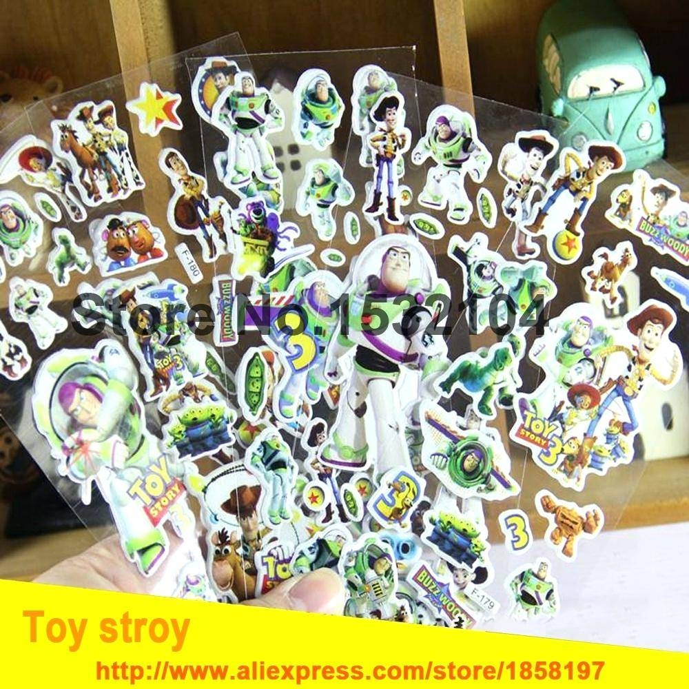 Articles With Toy Story Foam Wall Decorations Tag: Fascinating Toy In Best And Newest Toy Story Wall Stickers (View 1 of 25)