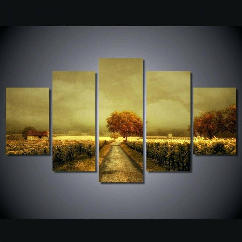 2018 Popular Vineyard Wall Art