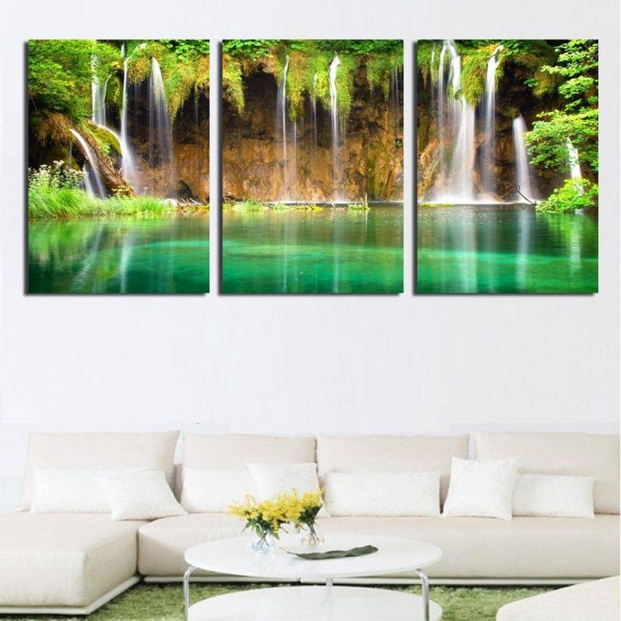 Articles With Waterfall Wall Art With Sound Tag: Waterfall Wall In Most Recent Waterfall Wall Art (View 10 of 20)