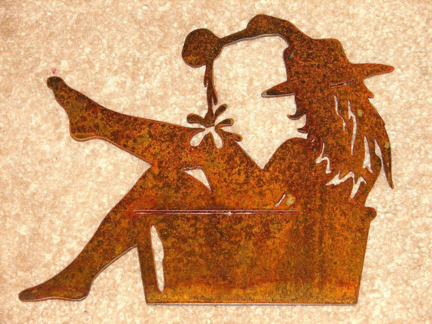 Articles With Western Metal Wall Art Silhouettes Tag: Western Wall Pertaining To Most Recent Western Metal Wall Art Silhouettes (View 16 of 30)