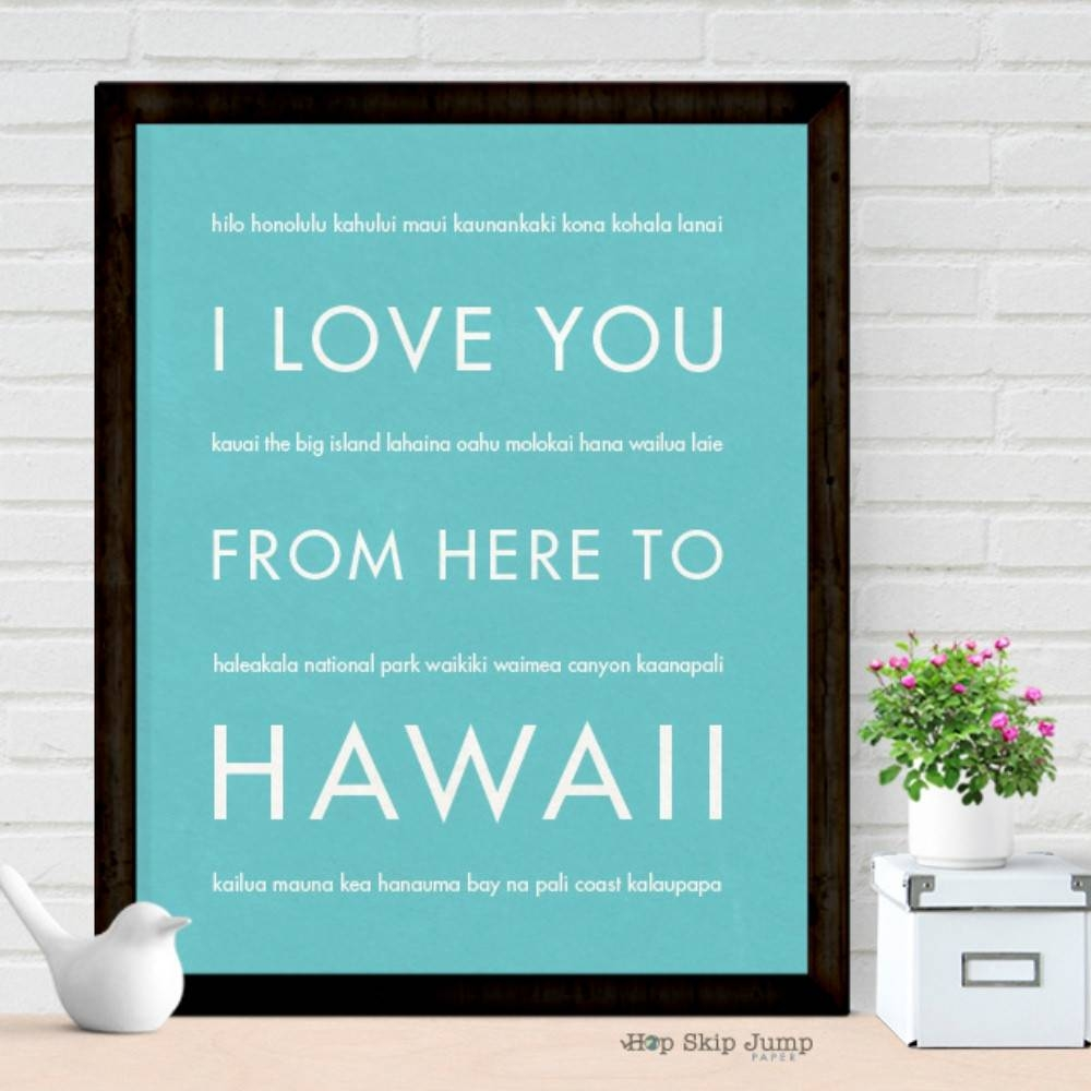 Articles With Wooden Hawaiian Islands Wall Art Tag: Hawaii Wall Intended For Most Popular Hawaiian Islands Wall Art (View 15 of 25)