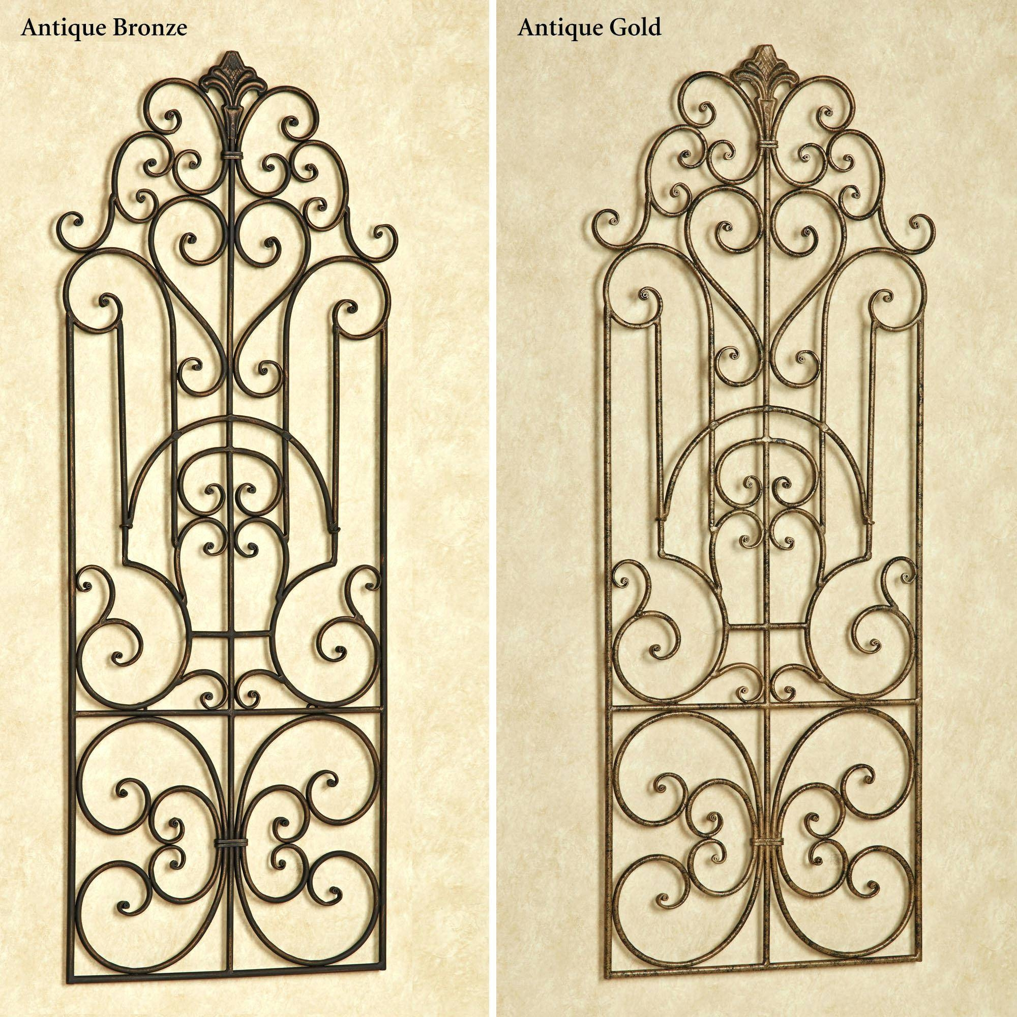 25 collection of faux wrought iron wall decors. Black Bedroom Furniture Sets. Home Design Ideas