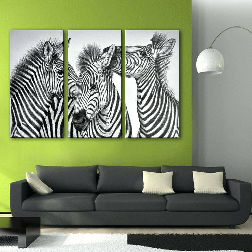 Articles With Zebra Picture Wall Decor Tag: Zebra Wall Decor (View 6 of 25)