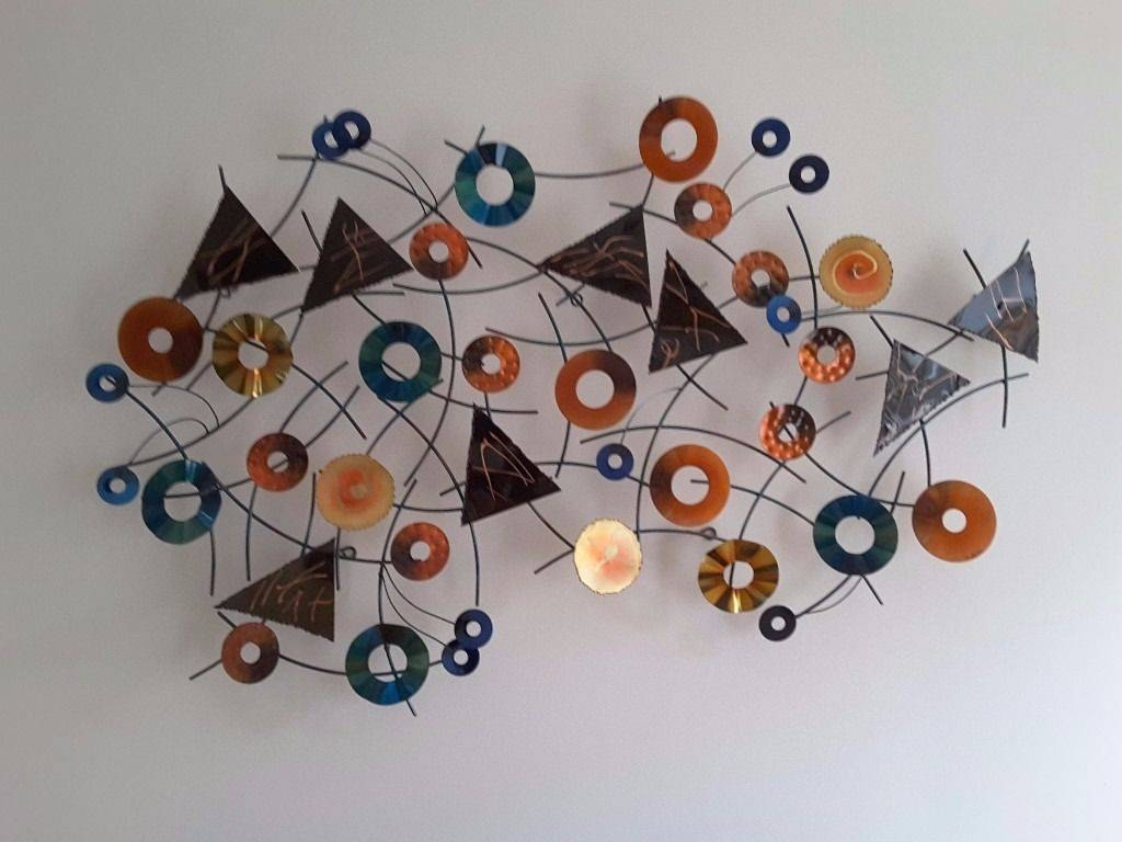 Artisan House Metal Wall Art – Kaleidoscope | In Loughborough Regarding Most Up To Date Kaleidoscope Wall Art (View 6 of 20)
