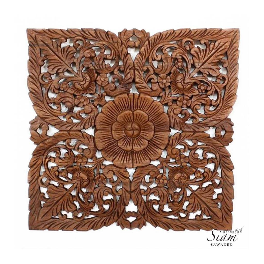 Asian Wooden Wall Art With Regard To Current Asian Wall Art Panels (View 3 of 20)