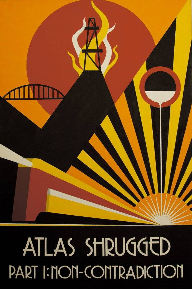 Atlas Shrugged Act 1Decoechoes On Deviantart With Regard To Most Recent Atlas Shrugged Cover Art (View 7 of 20)