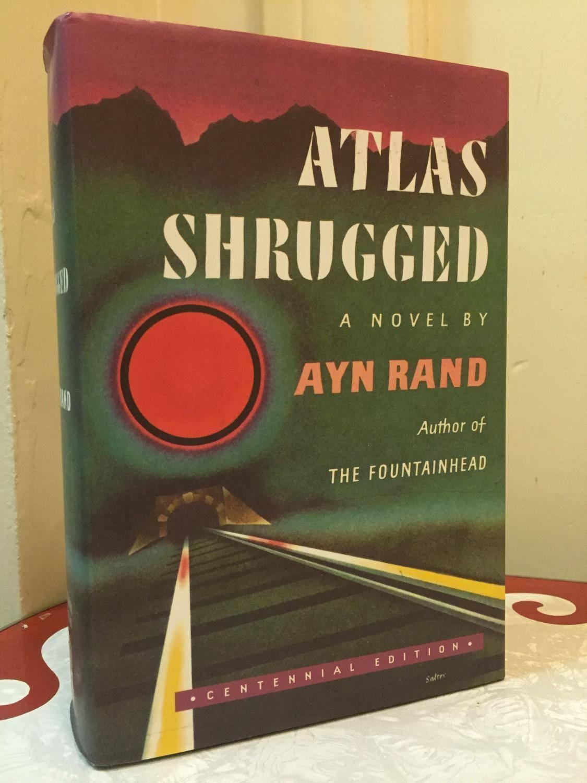 Atlas Shrugged (centennial Edition)rand, Ayn: Dutton, New York Regarding Most Popular Atlas Shrugged Cover Art (View 8 of 20)