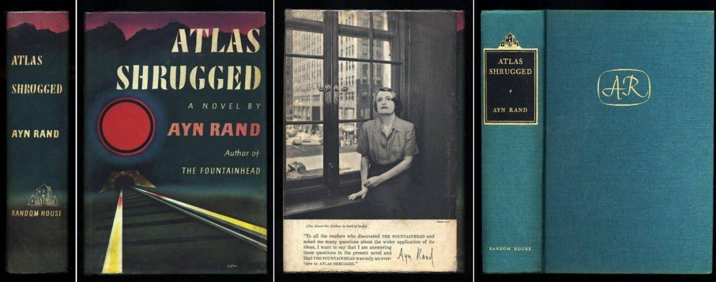 Atlas Shruggedayn Rand, First Edition, Random House – Abebooks With Current Atlas Shrugged Cover Art (Gallery 18 of 20)
