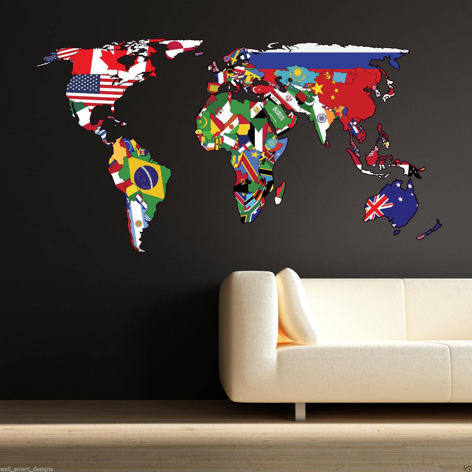 Atlas Wall Art – Wall Murals Ideas Within Most Up To Date Atlas Wall Art (View 2 of 20)