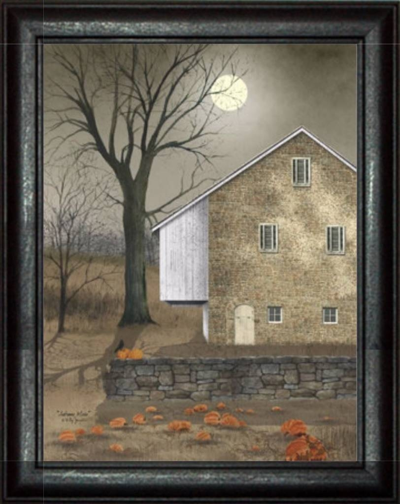 Autumn Moon Printbilly Jacobs – Primitive Country Art – Nana's With Best And Newest Billy Jacobs Framed Wall Art Prints (View 14 of 20)