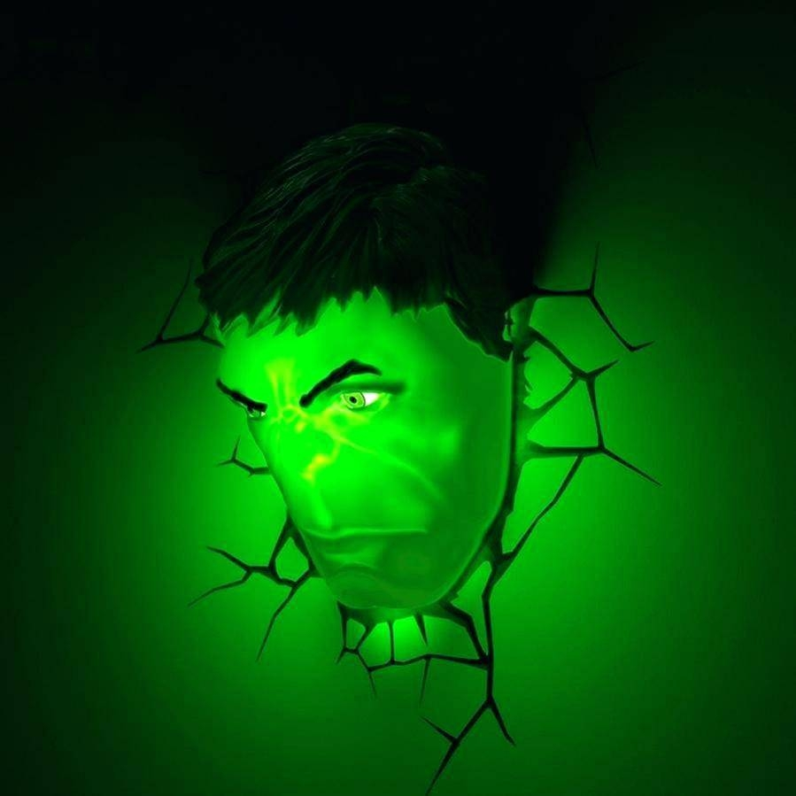 Avengers 3D Wall Lights Marvel Spider Man Hand Led Night Light Art In Latest 3D Wall Art Night Light Spiderman Hand (View 4 of 20)
