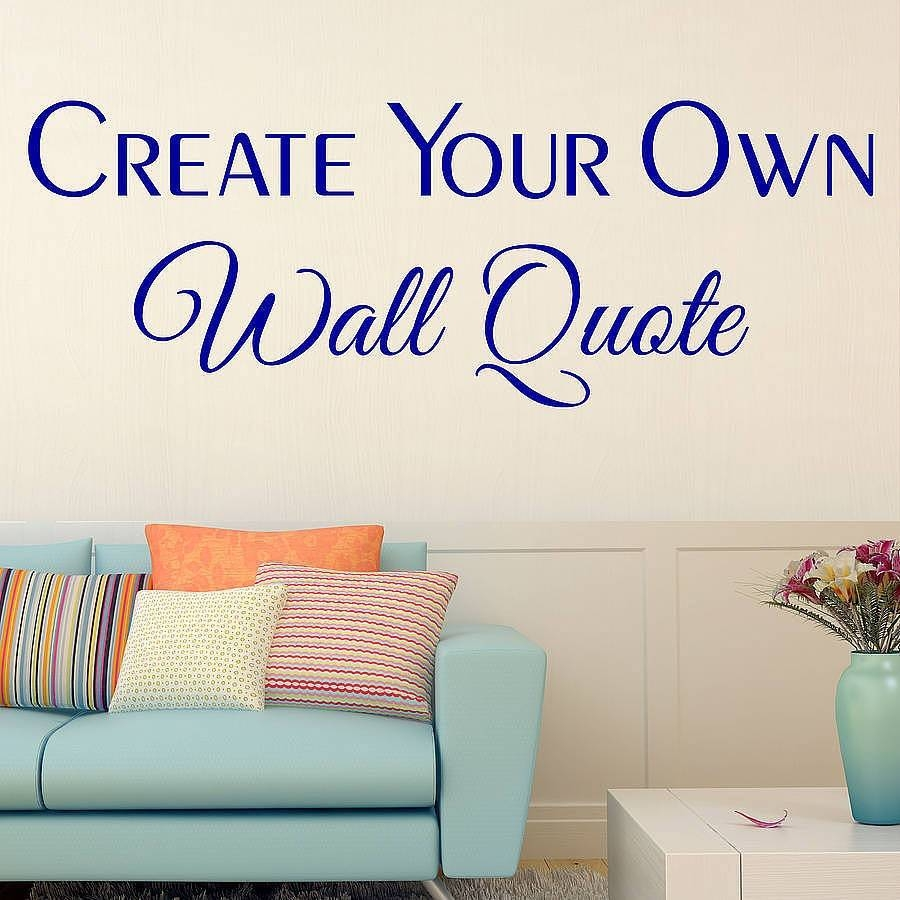 Awesome Customized Wall Decals | About My Blog Within 2018 Customized Wall Art (View 3 of 20)