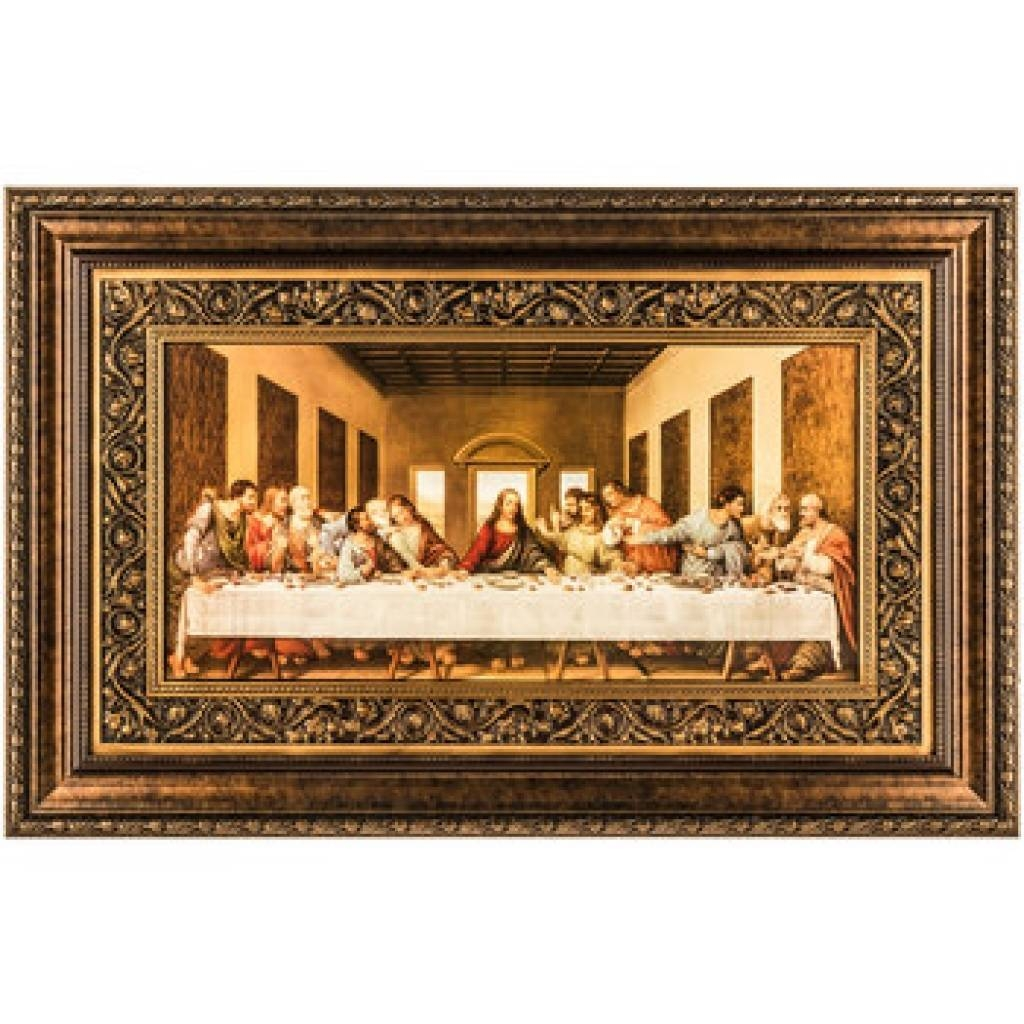 Awesome Last Supper Wall Decor Ideas | Interior Decoration Pertaining To Best And Newest Last Supper Wall Art (View 6 of 20)