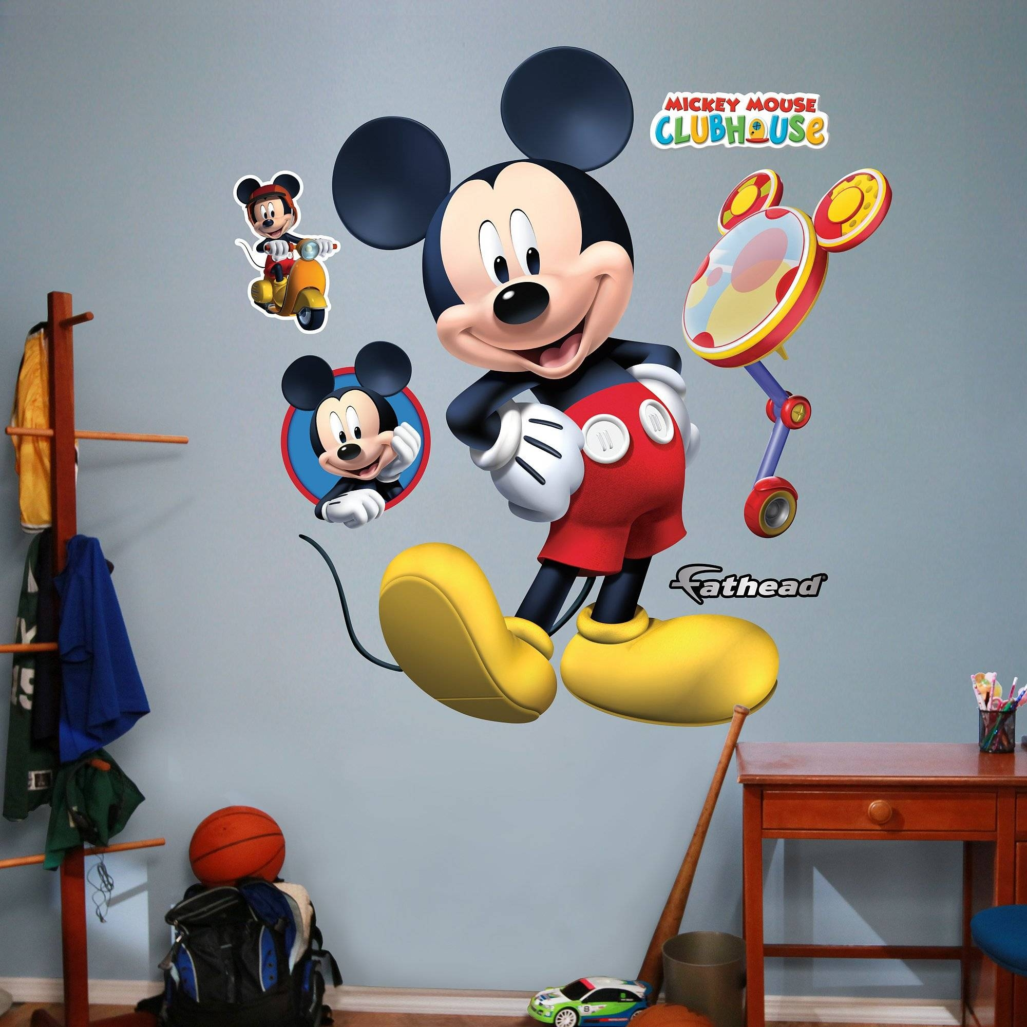 B Art Galleries In Mickey Mouse Clubhouse Wall Decals – Home Decor Regarding Newest Mickey Mouse Clubhouse Wall Art (View 19 of 20)