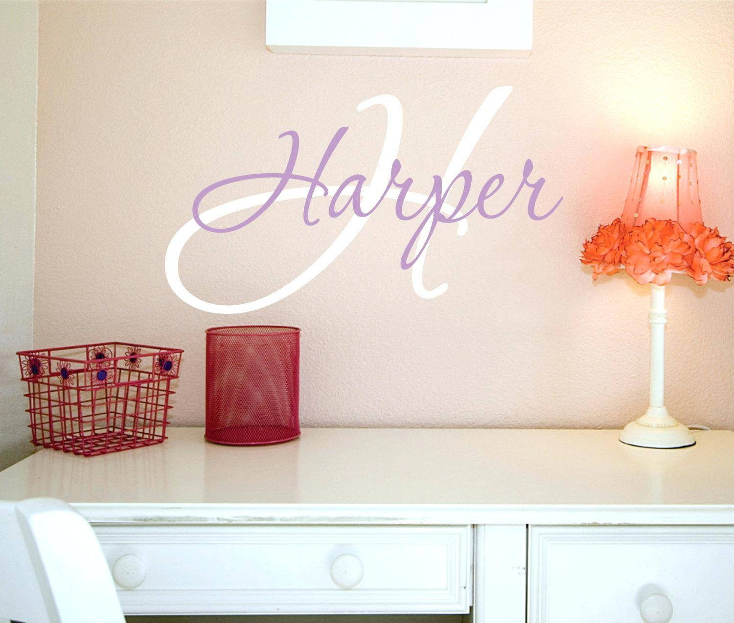 Baby Boy Name Wall Decals Personalized Name Vinyl Wall Art Decor Within Most Current Baby Name Wall Art (View 5 of 25)