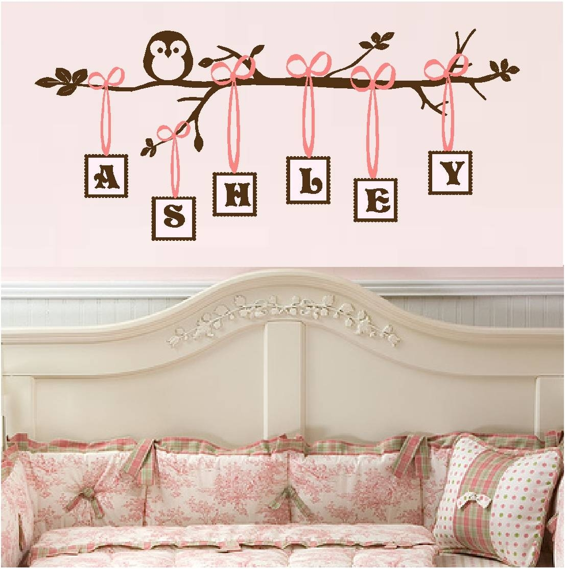 Baby Girl Quotes | Quotes For Little Girls, Vinyl Monogral, Owl Art Inside Best And Newest Little Girl Wall Art (View 2 of 20)
