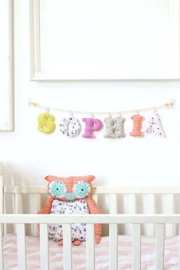 Baby Name Letters For Nursery Winsome Baby Name Wall Decor Entry Inside Newest Baby Name Wall Art (View 21 of 25)