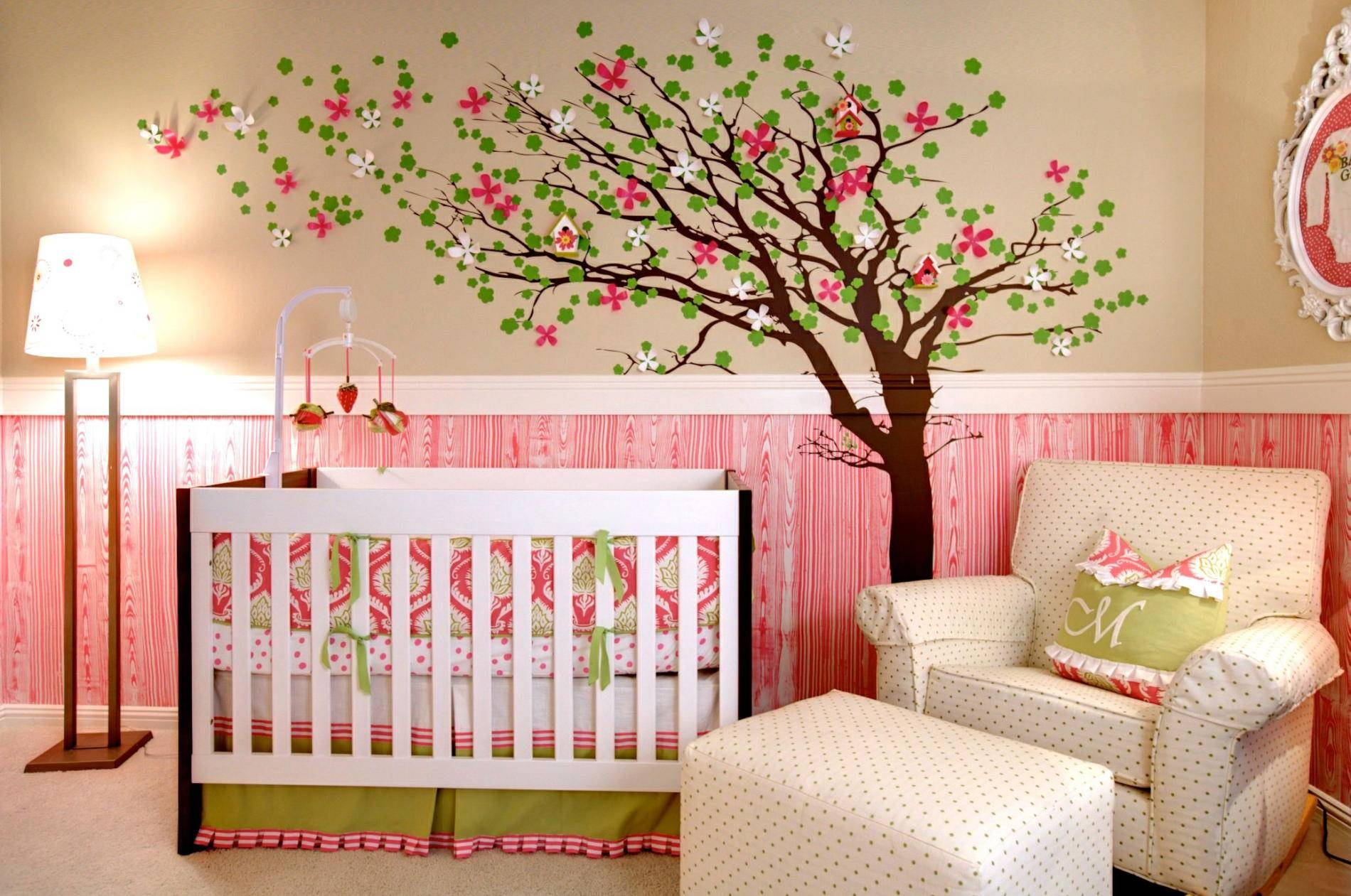 Baby Nursery: Accent Wall Decorations For Baby Room With Murals Regarding Most Recently Released Baby Nursery 3D Wall Art (View 9 of 20)