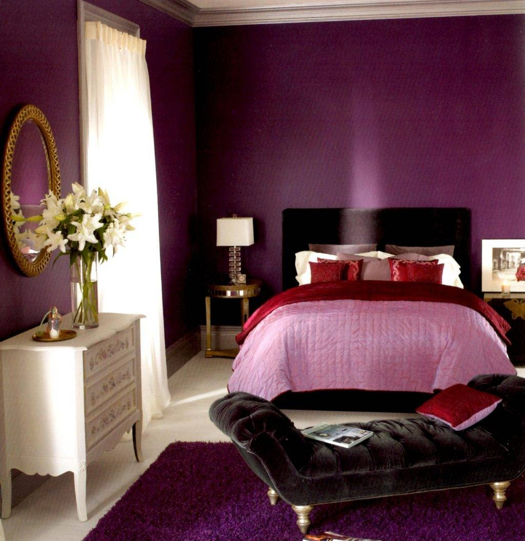 Baby Nursery ~ Likable Plum Colored Bedroom Style Ideas Design With Regard To Most Recent Plum Coloured Wall Art (View 10 of 20)