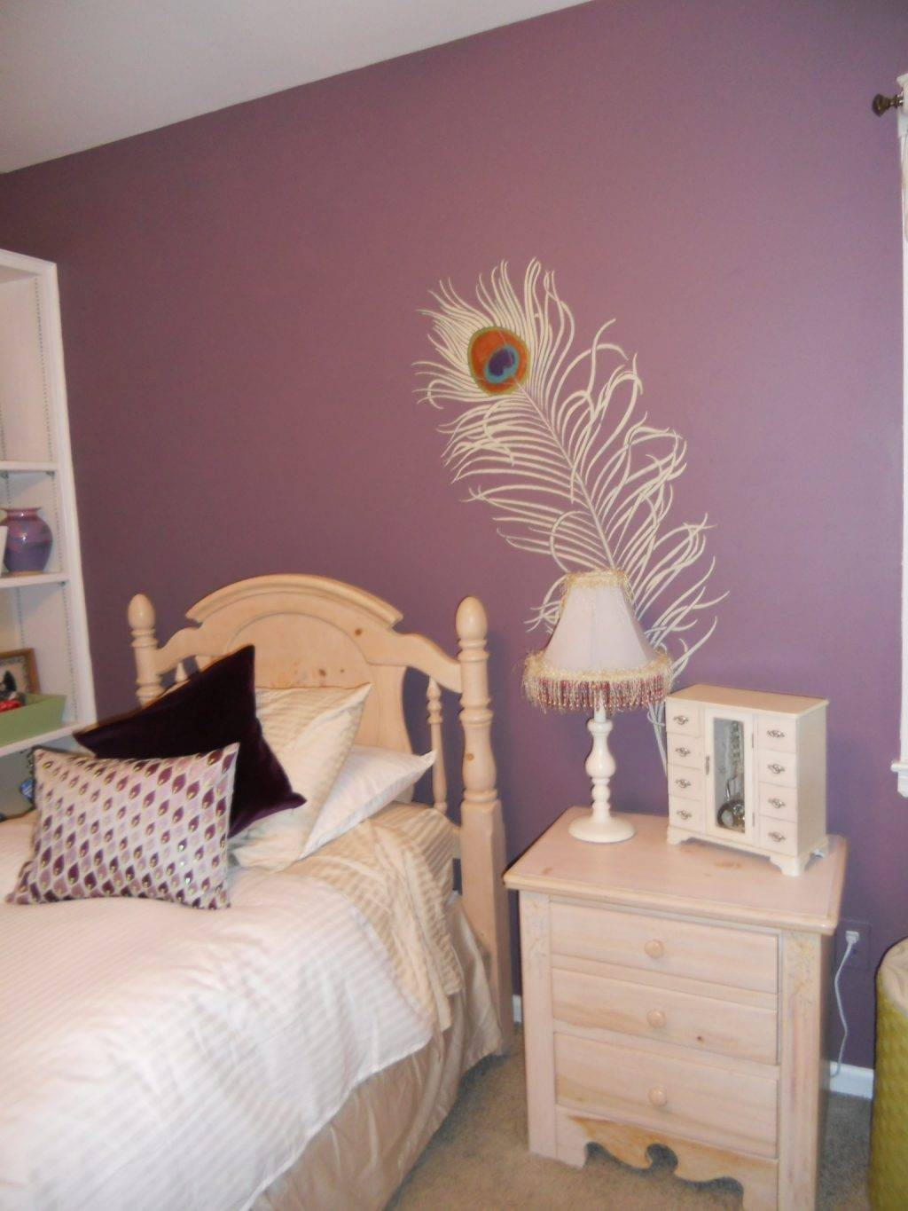 Baby Nursery ~ Winning Plum Wall Color Gorgeous Ideas For Purple In Newest Plum Coloured Wall Art (View 11 of 20)
