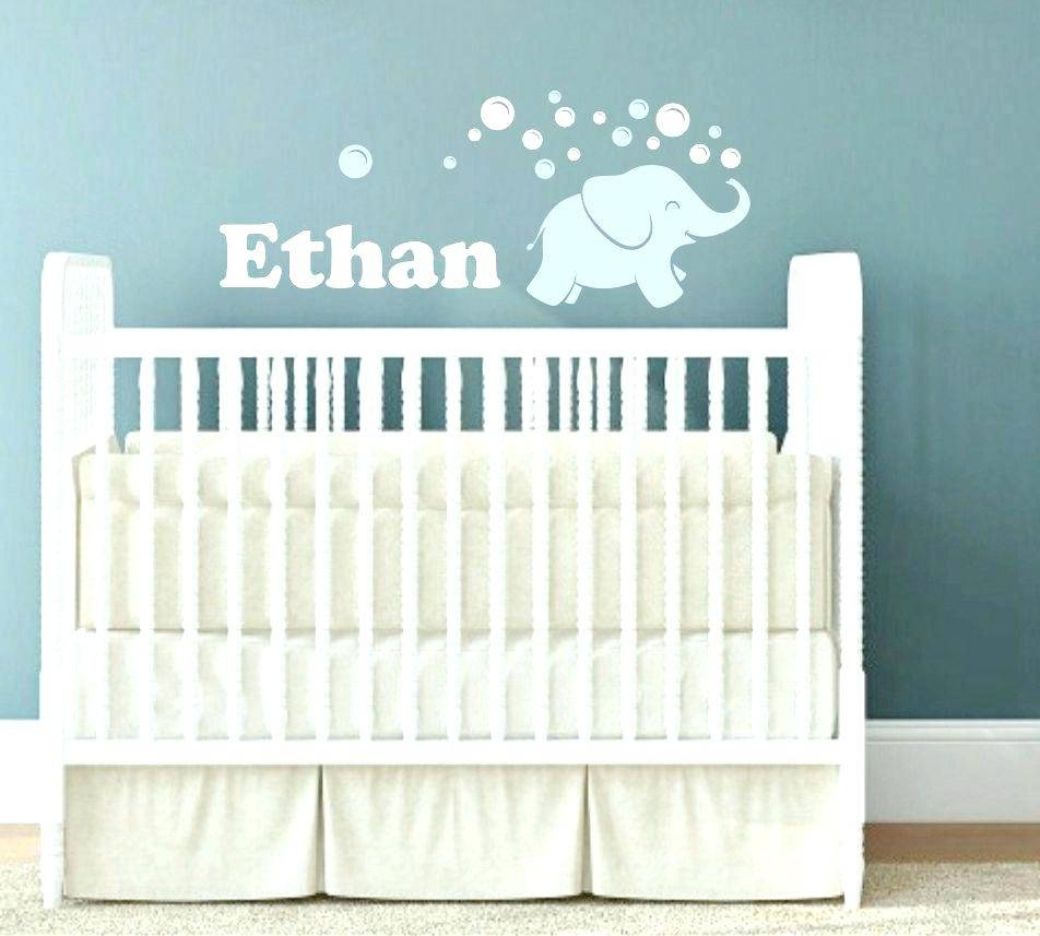 Baby Wall Art For Nursery Nursery Room Wall Decor The Graphics Intended For Most Popular Baby Name Wall Art (View 10 of 25)